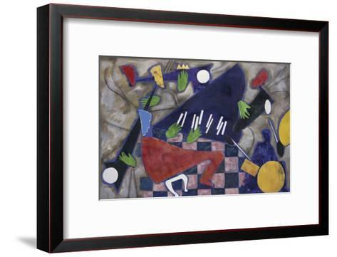 We're Here Jammin', c.1999-Gil Mayers-Framed Art Print