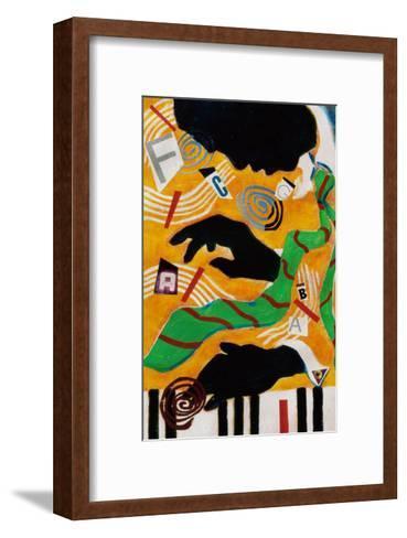 The Lion-Gil Mayers-Framed Art Print