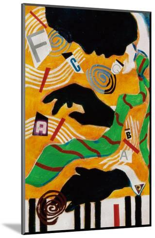 The Lion-Gil Mayers-Mounted Giclee Print