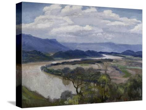 Tennessee River Valley-Charles Mclaughlin-Stretched Canvas Print