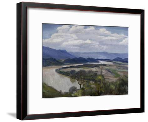 Tennessee River Valley-Charles Mclaughlin-Framed Art Print