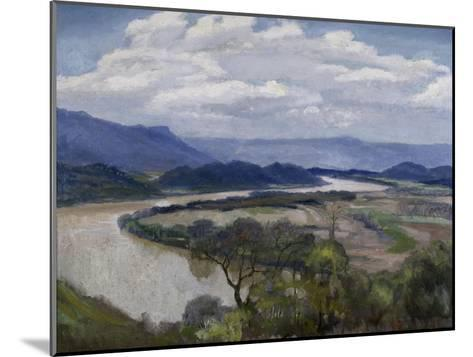 Tennessee River Valley-Charles Mclaughlin-Mounted Giclee Print