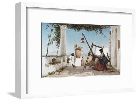 Spinning the Yarn-C. Wilhelm-Framed Art Print