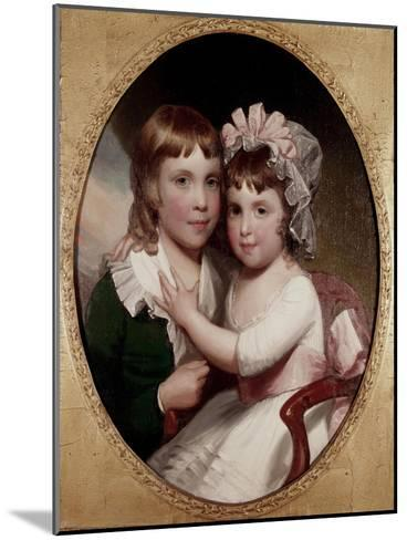 Brother and Sister-Thomas Sully-Mounted Giclee Print
