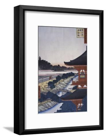 View of the Woods, 19th century-Ando Hiroshige-Framed Art Print