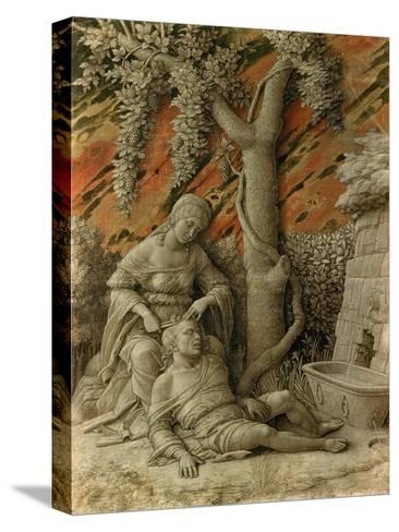 Samson and Delilah-Andrea Mantegna-Stretched Canvas Print