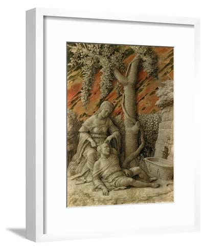 Samson and Delilah-Andrea Mantegna-Framed Art Print