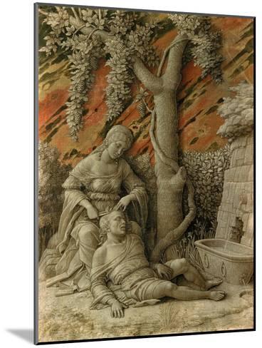 Samson and Delilah-Andrea Mantegna-Mounted Giclee Print