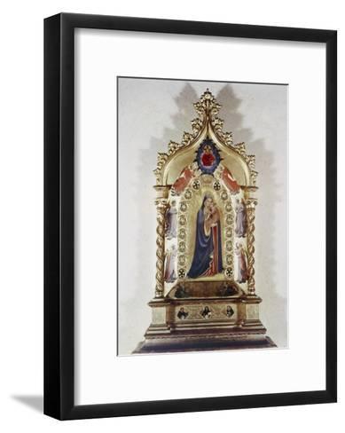 Madonna of the Stars-Fra Angelico-Framed Art Print