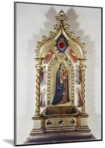 Madonna of the Stars-Fra Angelico-Mounted Giclee Print
