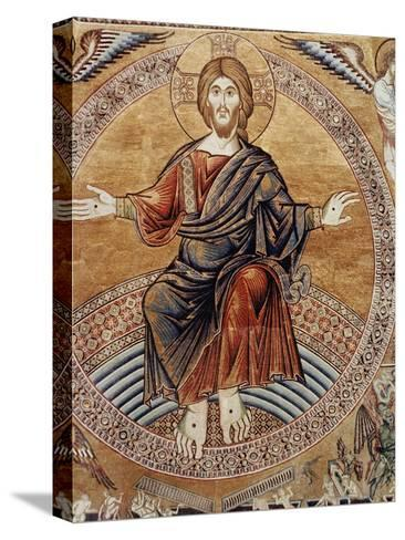 Christ Enthroneddetail from the Last Judgement--Stretched Canvas Print
