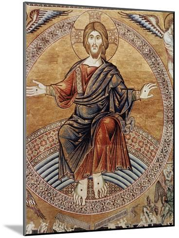Christ Enthroneddetail from the Last Judgement--Mounted Giclee Print