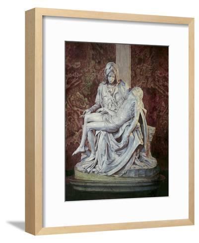 The Pieta-Michelangelo Buonarroti-Framed Art Print