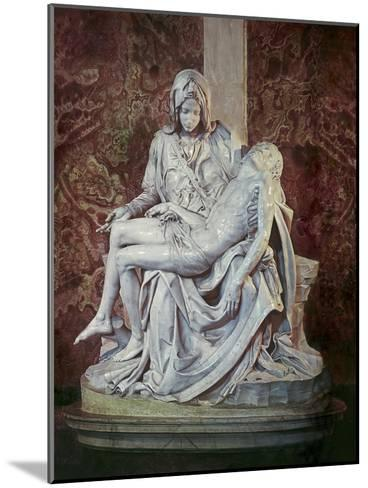 The Pieta-Michelangelo Buonarroti-Mounted Giclee Print