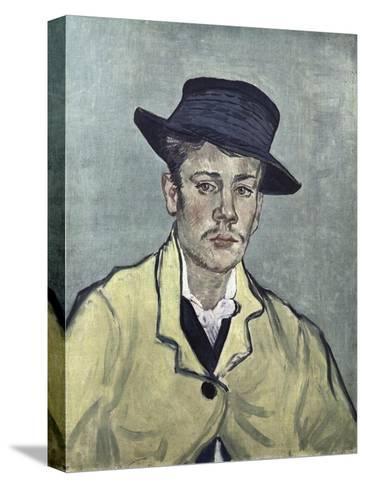 Portrait of Armand Roulin-Vincent van Gogh-Stretched Canvas Print