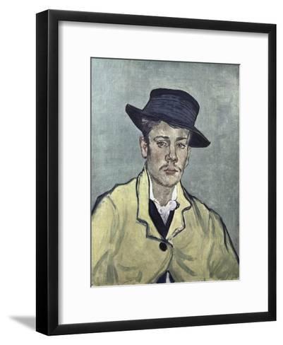 Portrait of Armand Roulin-Vincent van Gogh-Framed Art Print