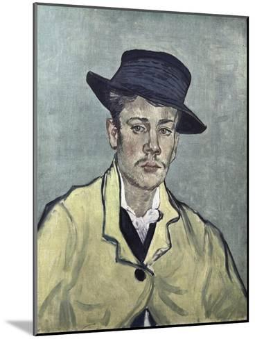 Portrait of Armand Roulin-Vincent van Gogh-Mounted Giclee Print