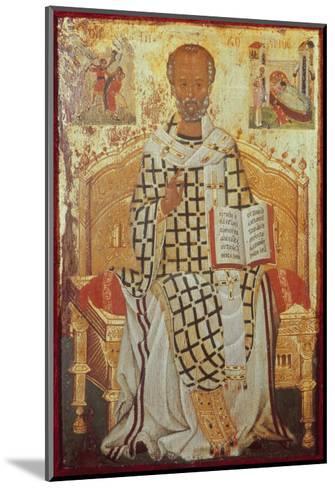 Saint Nicolas-Michael Damaskenos-Mounted Giclee Print