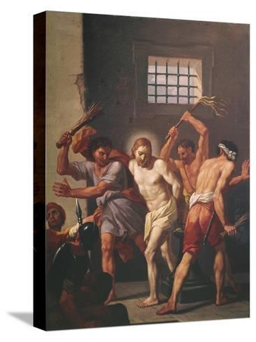 The Scourging of Christ-Hendrick Krock-Stretched Canvas Print