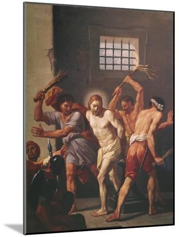 The Scourging of Christ-Hendrick Krock-Mounted Giclee Print