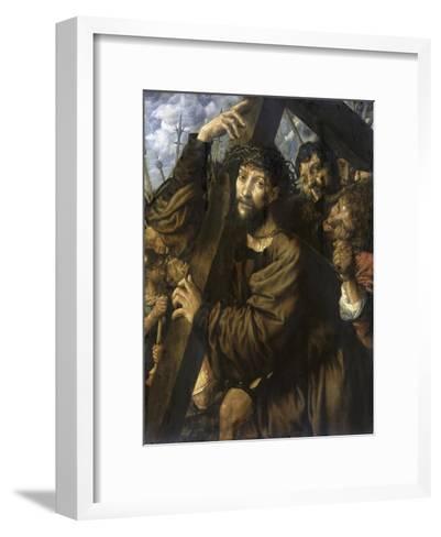 Christ Bearing the Cross-Jan Sanders van Hemessen-Framed Art Print