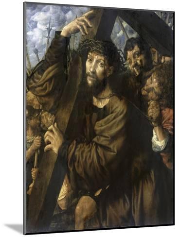 Christ Bearing the Cross-Jan Sanders van Hemessen-Mounted Giclee Print