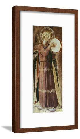 Angel with Tambourine-Fra Angelico-Framed Art Print