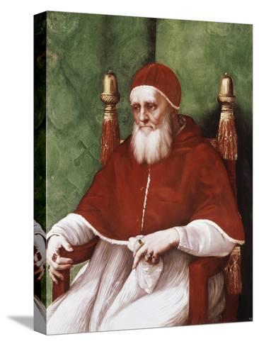 Pope Julius II-Raphael-Stretched Canvas Print