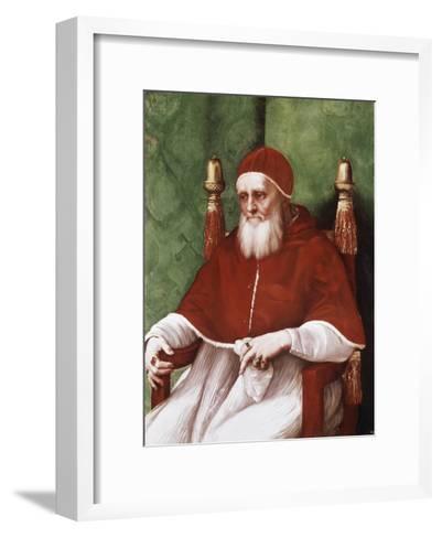 Pope Julius II-Raphael-Framed Art Print