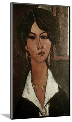 The Algerian Almaisa-Amedeo Modigliani-Mounted Giclee Print