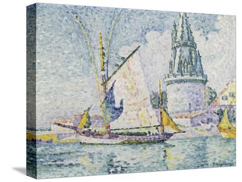 La Tour de Quatre Sergents, La Rochelle-Paul Signac-Stretched Canvas Print
