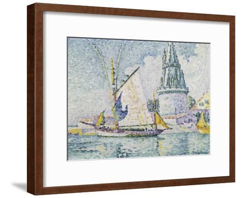 La Tour de Quatre Sergents, La Rochelle-Paul Signac-Framed Art Print