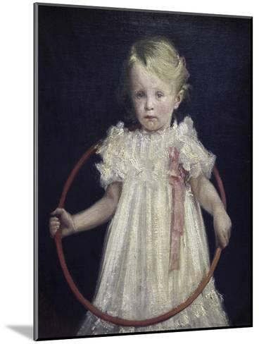 Girl with a Ring-Wladyslaw Podkowinski-Mounted Giclee Print