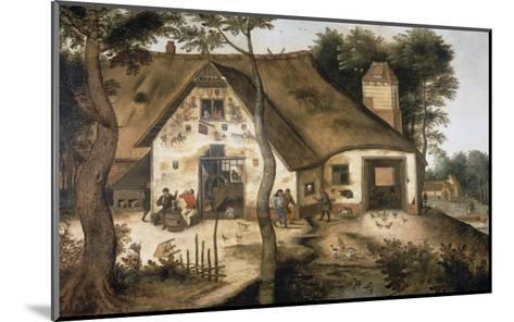 The Auberge Saint Michel-Pieter Bruegel the Elder-Mounted Giclee Print