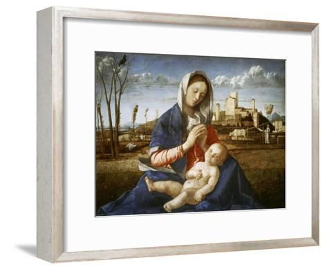 Madonna of the Meadow-Giovanni Bellini-Framed Art Print