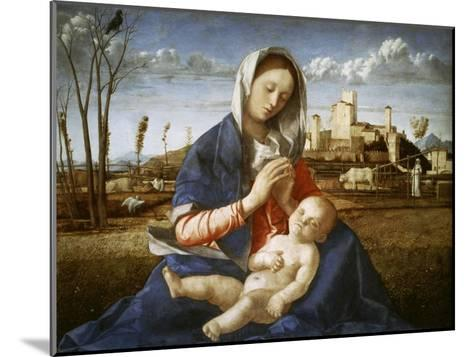 Madonna of the Meadow-Giovanni Bellini-Mounted Giclee Print