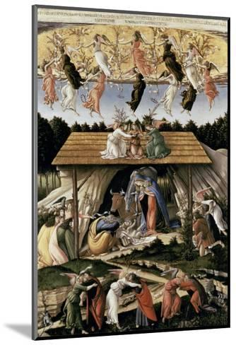 The Mystic Nativity-Sandro Botticelli-Mounted Giclee Print