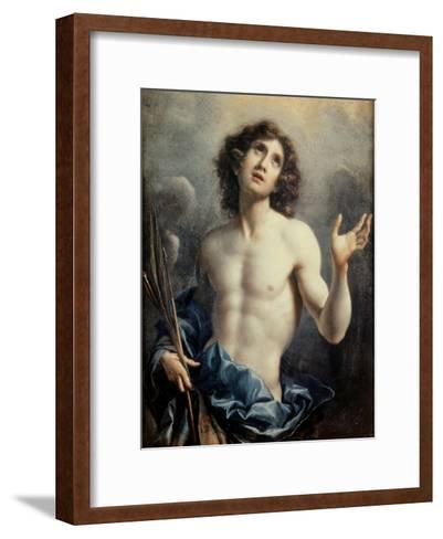 Saint Sebastian-Carlo Dolci-Framed Art Print