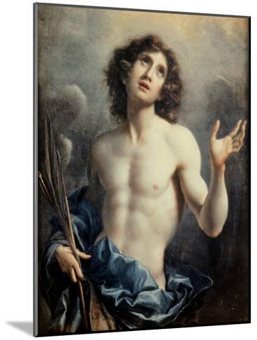 Saint Sebastian-Carlo Dolci-Mounted Giclee Print