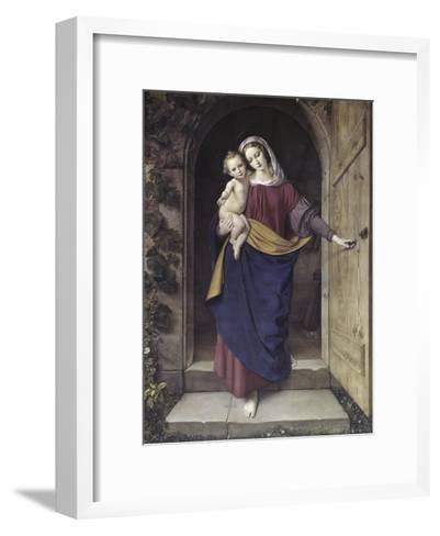 Madonna in the Workshop-Eduard Steinbruck-Framed Art Print
