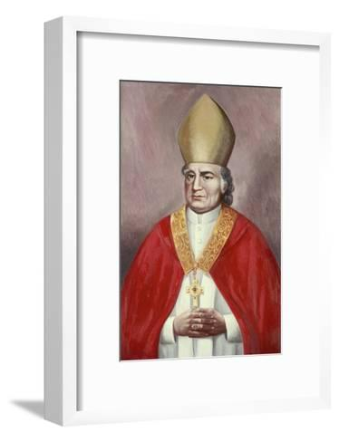 Archbishop John Carrol-Vittorio Bianchini-Framed Art Print