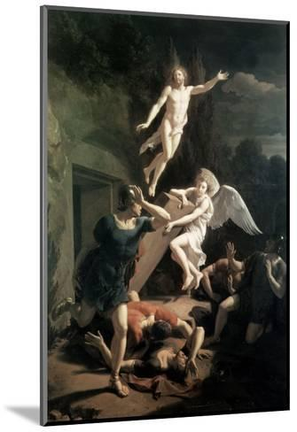 The Resurrection-Adriaan van der Werff-Mounted Giclee Print