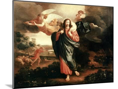 The Good Shepherd-Philippe De Champaigne-Mounted Giclee Print