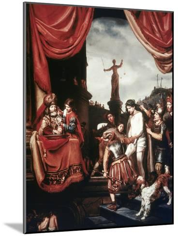 Christ Before Pilate-Cornelis Bisschop-Mounted Giclee Print
