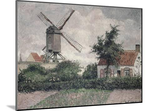 Moulin a Knocke, Belgique-Camille Pissarro-Mounted Giclee Print