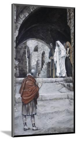 Lord, I Am Not Worthy-James Tissot-Mounted Giclee Print