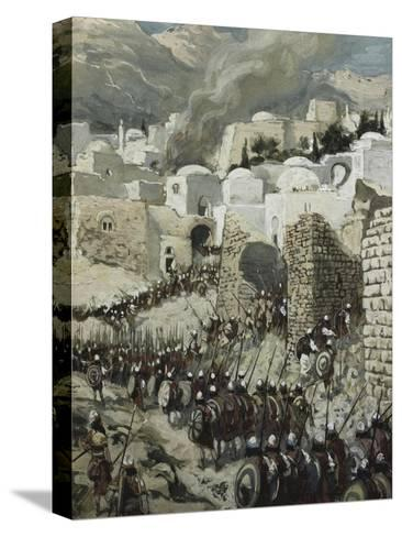 The Taking of Jericho-James Tissot-Stretched Canvas Print