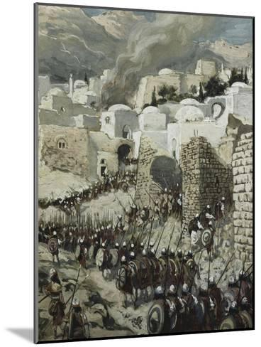 The Taking of Jericho-James Tissot-Mounted Giclee Print