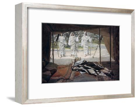Abraham and the Three Angels-James Tissot-Framed Art Print