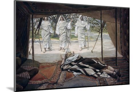 Abraham and the Three Angels-James Tissot-Mounted Giclee Print